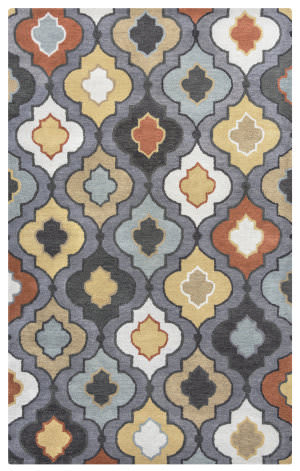 Rizzy Bradberry Downs Bd-8602 Blue Grey Area Rug