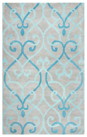 Rizzy Bradberry Downs Bd-8857 Blue Area Rug