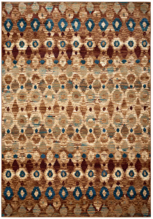 Rizzy Bellevue Bv-3966 Tan - Camel - Brown Area Rug