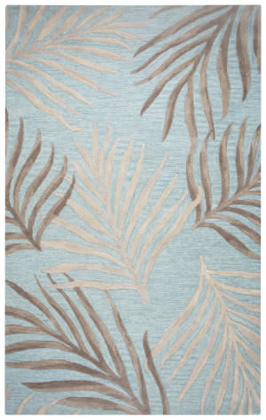 Rizzy Cabot Bay Ca-370a Seafoam Area Rug