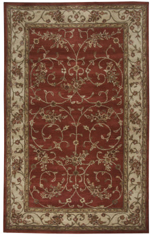 Rizzy Craft Cf0816 Red Area Rug