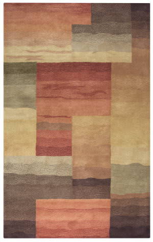 Rizzy Colours Cl-1383 Red - Burgundy Area Rug