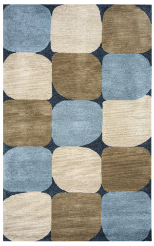 Rizzy Colours Cl-1675 Blue - Navy Area Rug