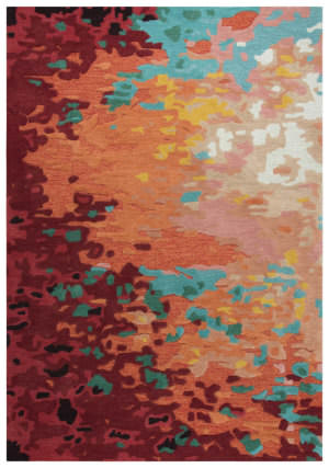 Rizzy Connie Post Cnp101 Orange Area Rug