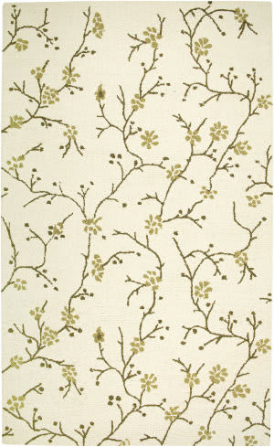 Rizzy Country Ct-1634 Ivory Area Rug