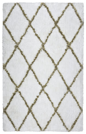 Rizzy Connex Cx-003a White Area Rug