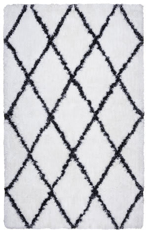 Rizzy Connex Cx-004a White Area Rug