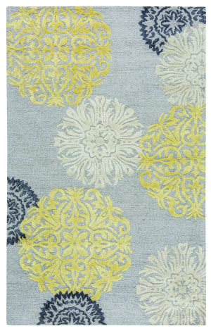 Rizzy Eden Harbor Eh-8639 Yellow Area Rug