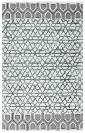 Rizzy Eden Harbor Eh-8810 Blue - Teal Area Rug