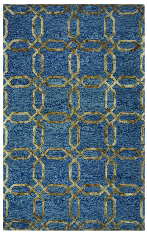 Rizzy Eden Harbor Eh-8812 Gold Area Rug