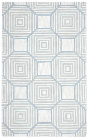Rizzy Arden Loft-Easley Meadow Em9420 Light Grey Area Rug