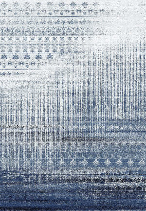 Rizzy Encore En7268 Blue Area Rug