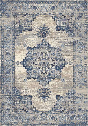 Rizzy Encore En7350 Blue Area Rug
