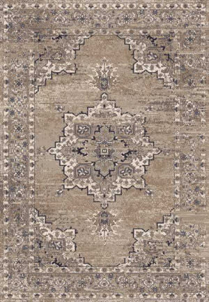 Rizzy Encore En7351 Medium Brown Area Rug