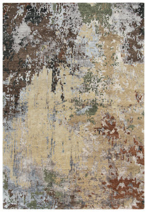 Rizzy Finesse Fin101 Beige - Brown Area Rug