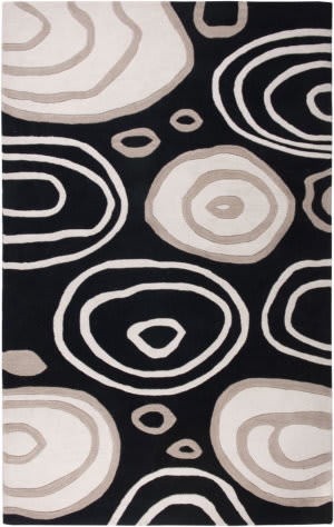 Rizzy Fusion Fn0071 Black Area Rug