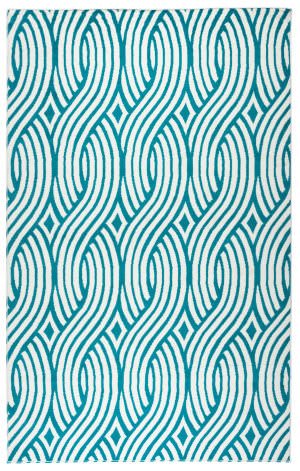 Rizzy Glendale Gd-5950 Aqua - Blue Area Rug
