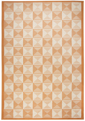 Rizzy Glendale Gd-7007 Orange Area Rug
