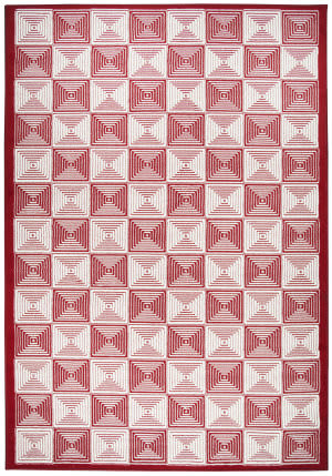 Rizzy Glendale Gd-7008 Red Area Rug