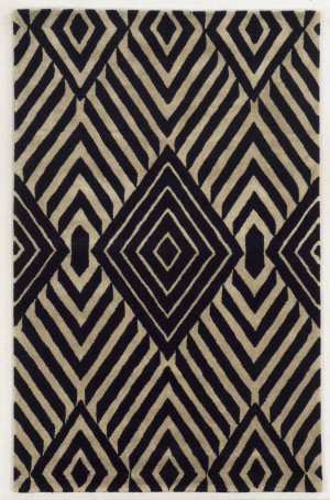 Rizzy Gillespie Avenue Gv8635 Black Area Rug