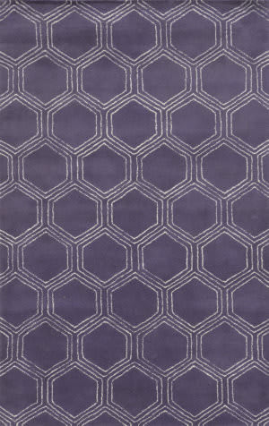 Rizzy Gillespie Avenue Gv8734 Purple Area Rug