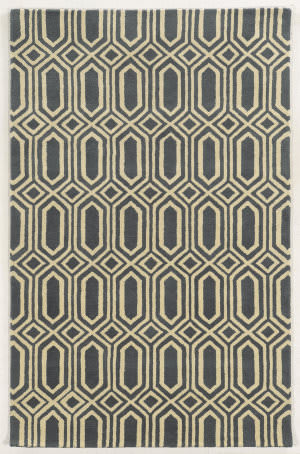 Rizzy Julian Pointe Jp-8612 Grey Area Rug