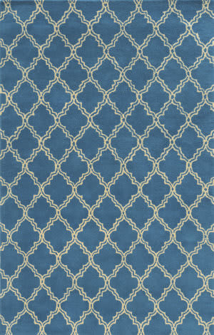 Rizzy Julian Pointe Jp-8742 Blue Area Rug