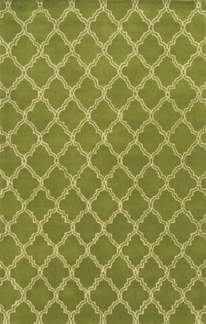 Rizzy Julian Pointe Jp-8745 Lime Green Area Rug