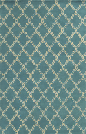 Rizzy Julian Pointe Jp-8747 Aqua - Blue Area Rug