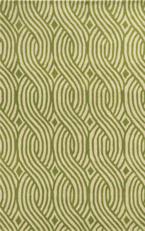 Rizzy Julian Pointe Jp-8866 Green Area Rug