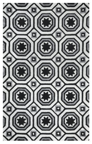 Rizzy Arden Loft-Lisbon Corner Lc9428 Light Grey Area Rug
