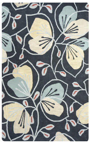Rizzy Arden Loft-Lewis Manor Lm9402 Charcoal Area Rug