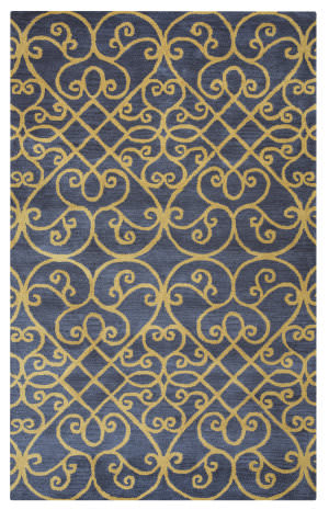 Rizzy Arden Loft-Lewis Manor Lm9403 Charcoal Area Rug