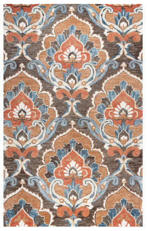 Rizzy Leone Lo-9982 Brown Area Rug