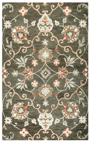 Rizzy Leone Lo-9988 Brown Area Rug