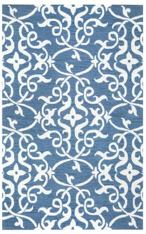 Rizzy Loureli Lr-9613 Blue Area Rug