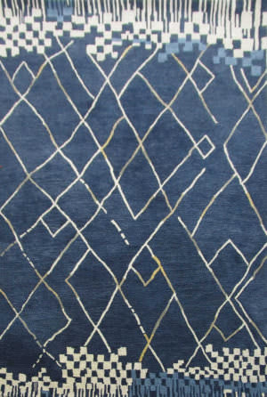 Rizzy Marianna Fields Mf010b Navy Area Rug