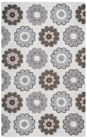 Rizzy Maggie Belle Mb-9538 Grey Area Rug