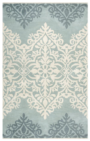 Rizzy Marianna Fields Mf-9444 Blue - Green Area Rug
