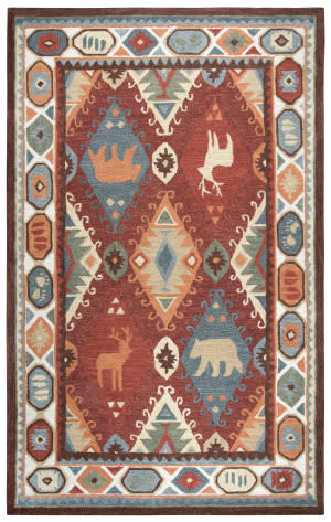 Rizzy Northwoods Nwd106 Red Area Rug