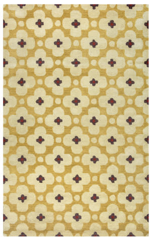 Rizzy Opus Op-8088 Yellow Area Rug