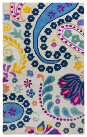 Rizzy Play Day Pd-576a Blue Area Rug