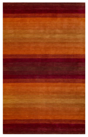 Rizzy Platoon Pl9347 Red Area Rug
