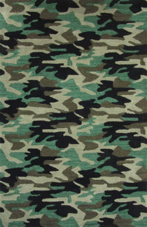 Rizzy Play Day Pd207b Green Area Rug