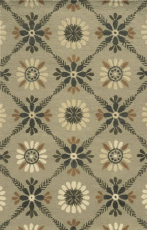 Rizzy Rockport Rp8762 Gray Area Rug