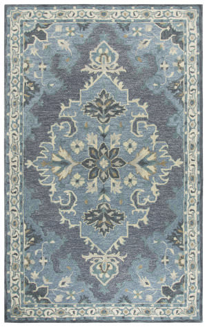 Rizzy Resonant Rs932a Dark Grey Area Rug