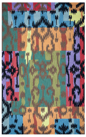 Rizzy Arden Loft-River Hill Rv9407 Dark Teal Area Rug