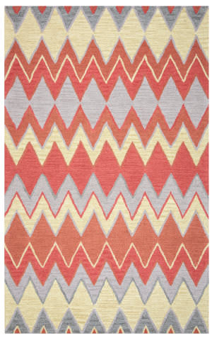 Rizzy Arden Loft-River Hill Rv9408 Terracotta Area Rug