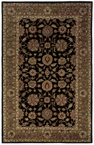 Rizzy Shine Sn0345 Black - Brown Area Rug
