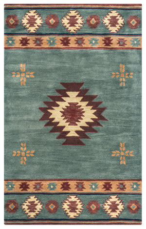 Rizzy Southwest Su-2008 Gray Blue Area Rug